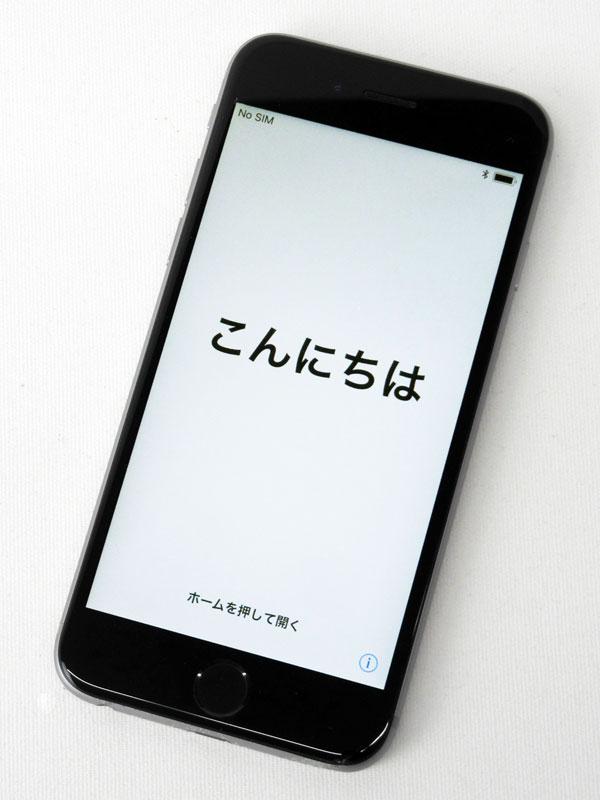 【Apple】アップル『iPhone 6s 64GB docomo』NKQN2J/A スペースグレイ iOS11.0.3 4.7型 白ロム ○判定 スマートフォン【中古】