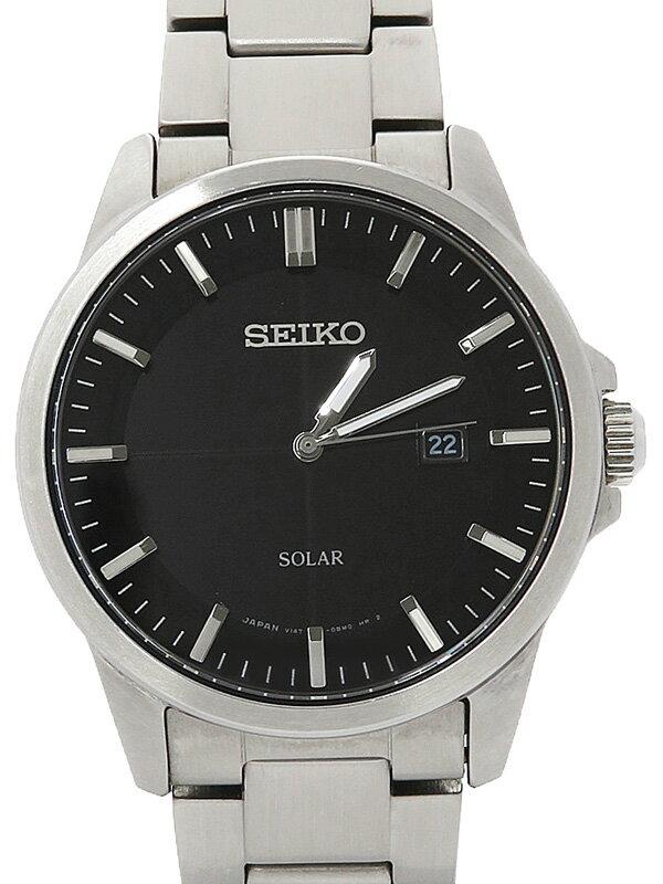 【SEIKO】セイコー『スピリット』SBPM091 49****番 メンズ ソーラークォーツ 1週間保証【中古】