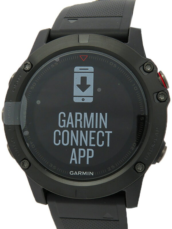 【GARMIN】【GPSマルチスポーツウォッチ】ガーミン『fenix 5X Sapphire』010-01733-13 メンズ ウェアラブル端末 1週間保証【中古】