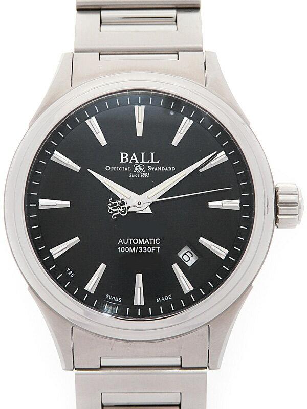 【BALL】【美品】【'17年購入】ボール『ストークマン ヴィクトリー』NM2098C-S3J-BK メンズ 自動巻き 1ヶ月保証【中古】
