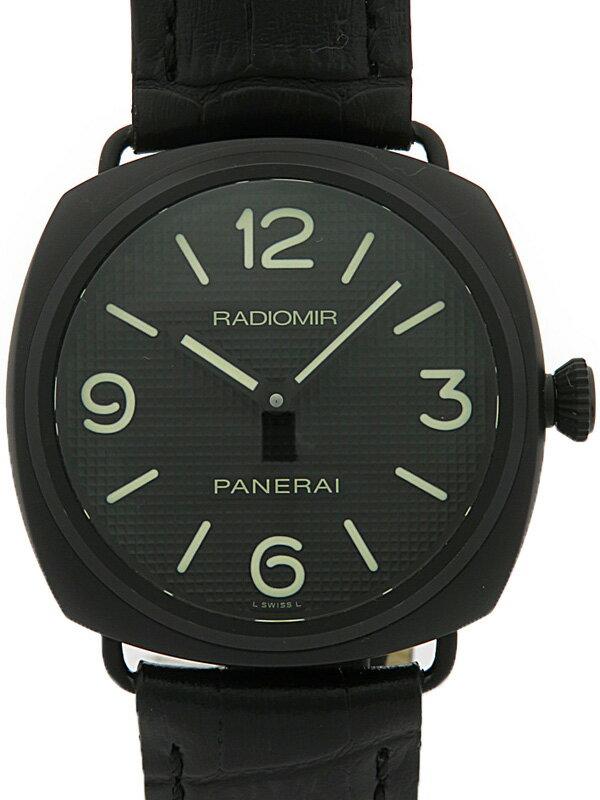 【PANERAI】パネライ『ラジオミール チュラミカ』PAM00643 R番'87年製 メンズ 手巻き 6ヶ月保証【中古】