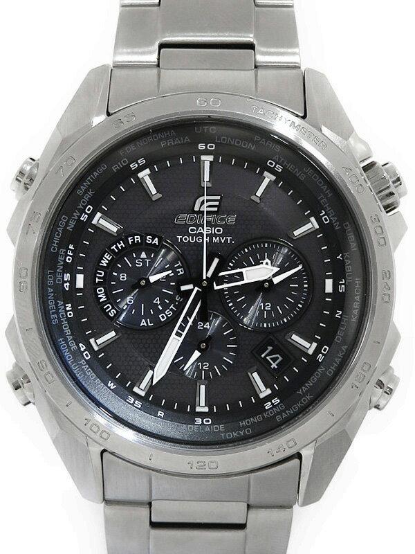 【CASIO】【EDIFICE】カシオ『エディフィス』EQW-T610D-1AJF メンズ ソーラー電波クォーツ 1週間保証【中古】