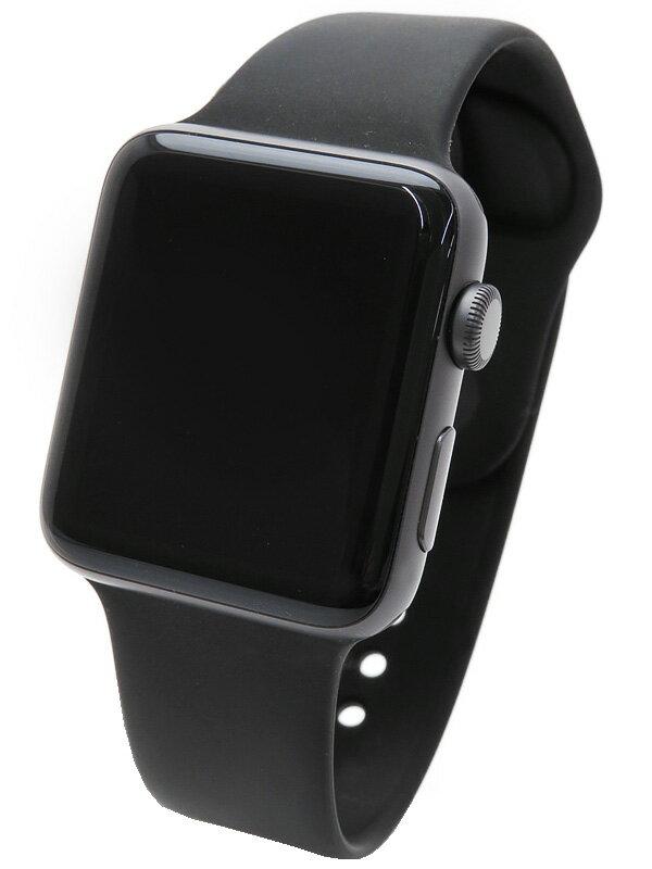 【Apple】【シリーズ2】アップル『Apple Watch Series2 42mm ブラックスポーツバンド』MP0G2J/A ボーイズ ウェアラブル端末 1週間保証【中古】