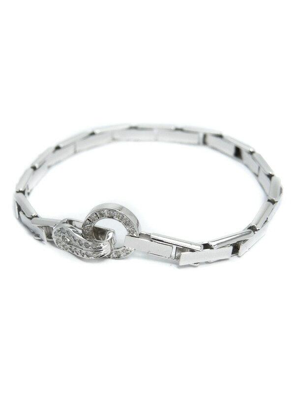 セレクトジュエリー『K18WGブレスレット ダイヤモンド0.30ct』1週間保証【中古】