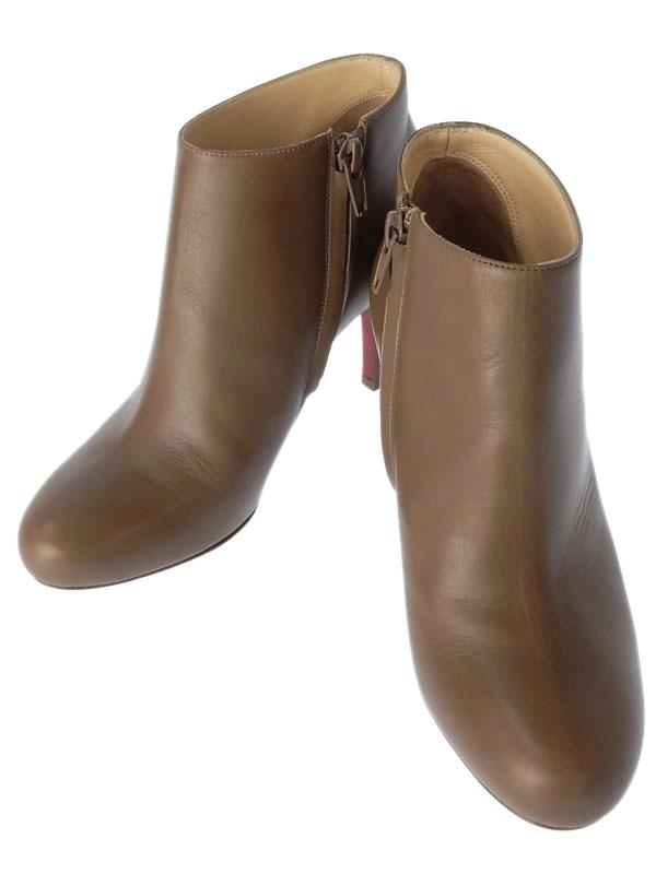 【Christian Louboutin】クリスチャンルブタン『ショートブーツ size35』レディース 1週間保証【中古】