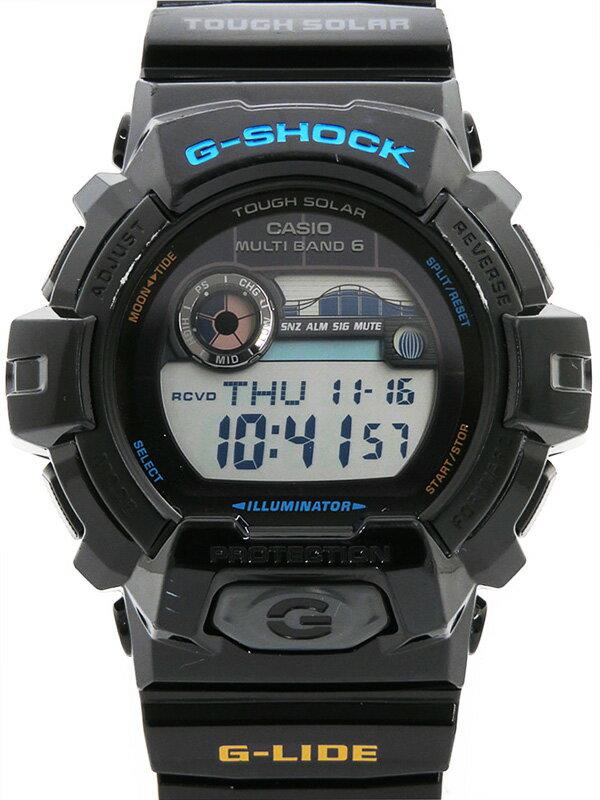 【CASIO】【G-SHOCK】カシオ『Gショック Gライド』GWX-8900-1JF メンズ ソーラー電波クォーツ 1週間保証【中古】