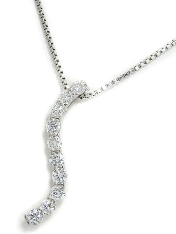 セレクトジュエリー『PT900/PT850ネックレス ダイヤモンド1.00ct』1週間保証【中古】