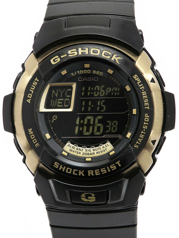 【CASIO】【G-SHOCK】カシオ『Gショック トレジャーゴールド』G-7700G-9JF メンズ クォーツ 1週間保証【中古】