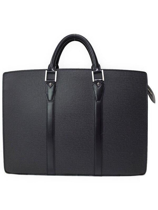 【LOUIS VUITTON】【書類鞄】【ブリーフケース】ルイヴィトン『タイガ ポルトドキュマン ロザン』M30052 メンズ ビジネスバッグ 1週間保証【中古】