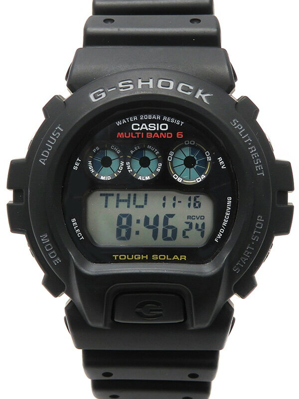 【CASIO】【G-SHOCK】カシオ『Gショック』GW-6900-1JF メンズ ソーラー電波クォーツ 1週間保証【中古】