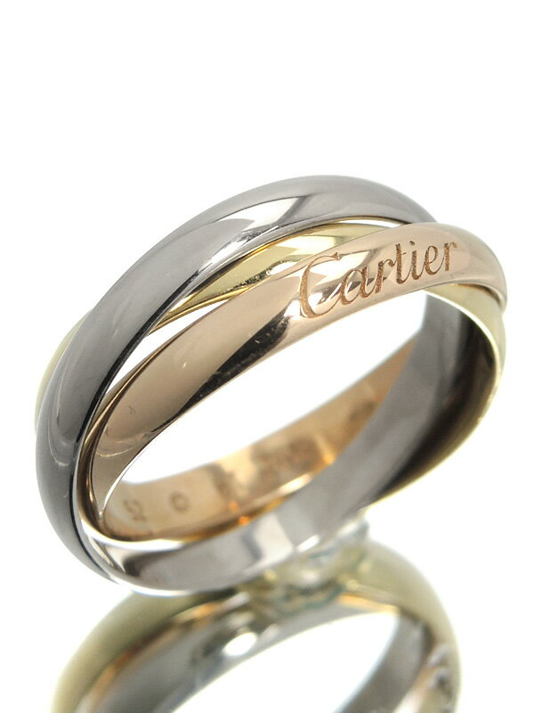 【Cartier】【仕上済】カルティエ『トリニティ リング』12号 1週間保証【中古】