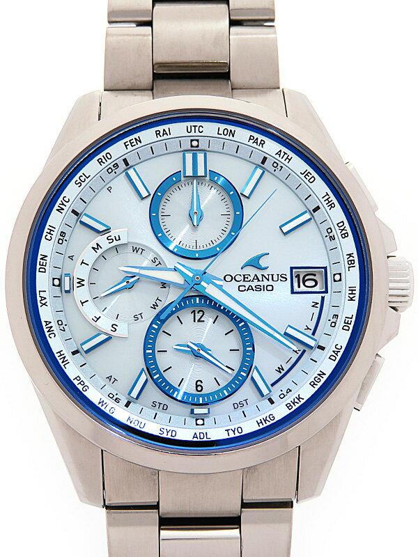 【CASIO】【OCEANUS】カシオ『オシアナス』OCW-T2600-2AJF メンズ ソーラー電波クォーツ 1ヶ月保証【中古】