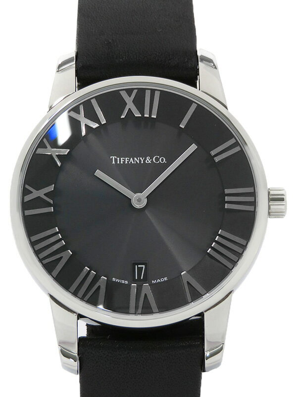 【TIFFANY&Co.】ティファニー『アトラス ドーム』Z1800.11.10A10A52A メンズ クォーツ 1ヶ月保証【中古】