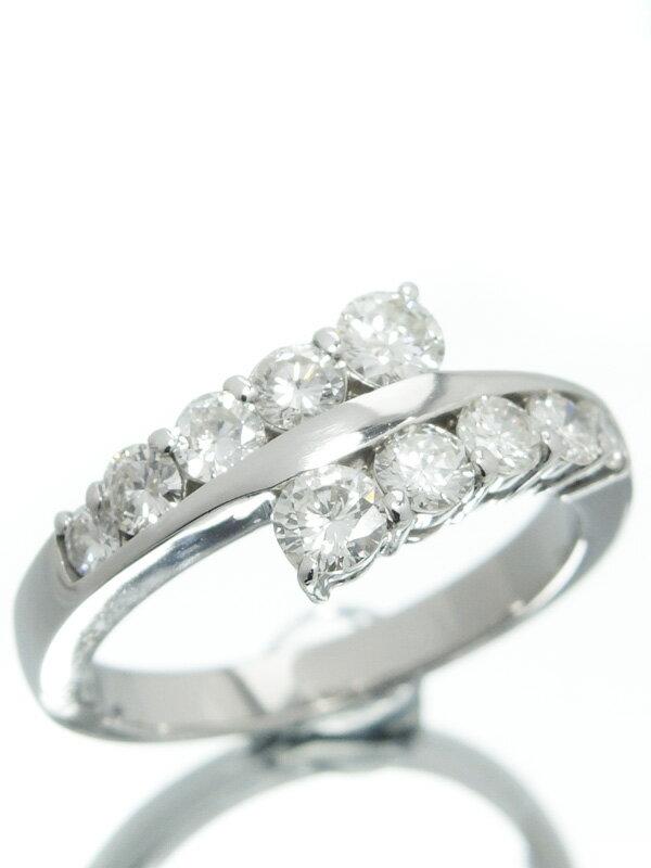 【仕上済】セレクトジュエリー『PT900リング ダイヤモンド1.00ct』13号 1週間保証【中古】