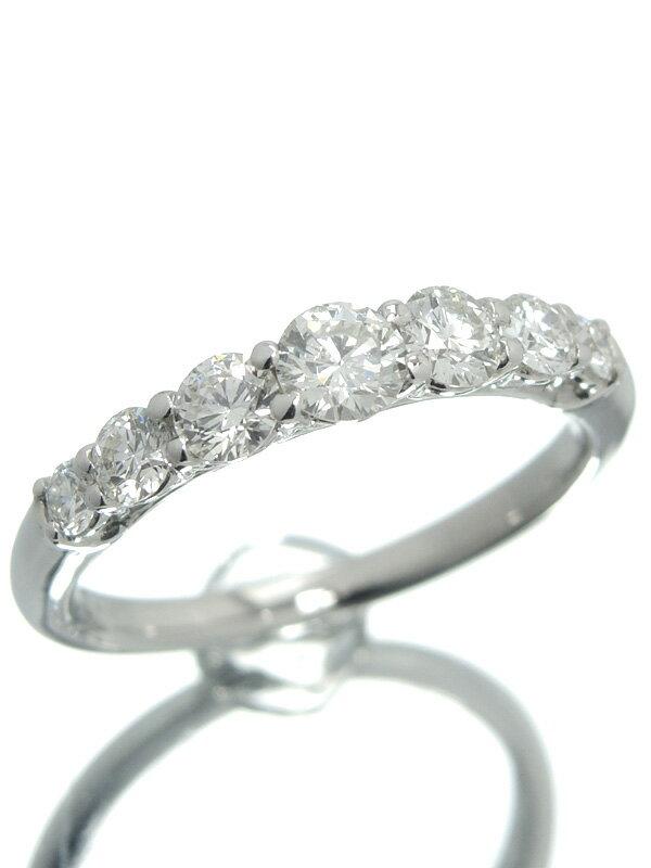 【仕上済】セレクトジュエリー『PT900リング ダイヤモンド0.743ct』12号 1週間保証【中古】