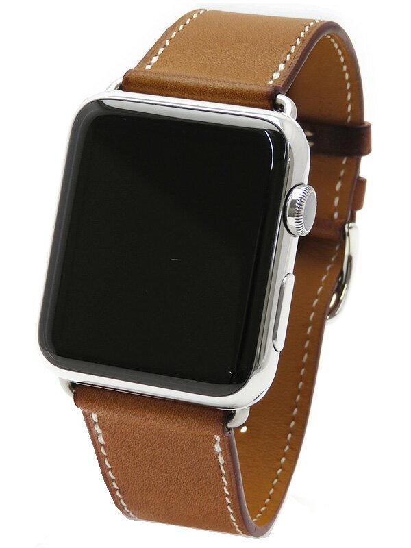 【Apple】【アップルウォッチ】【海外モデル】アップル『Apple Watch Hermes 42mm シンプルトゥール』MLCC2LL/A ボーイズ ウェアラブル端末 1週間保証【中古】