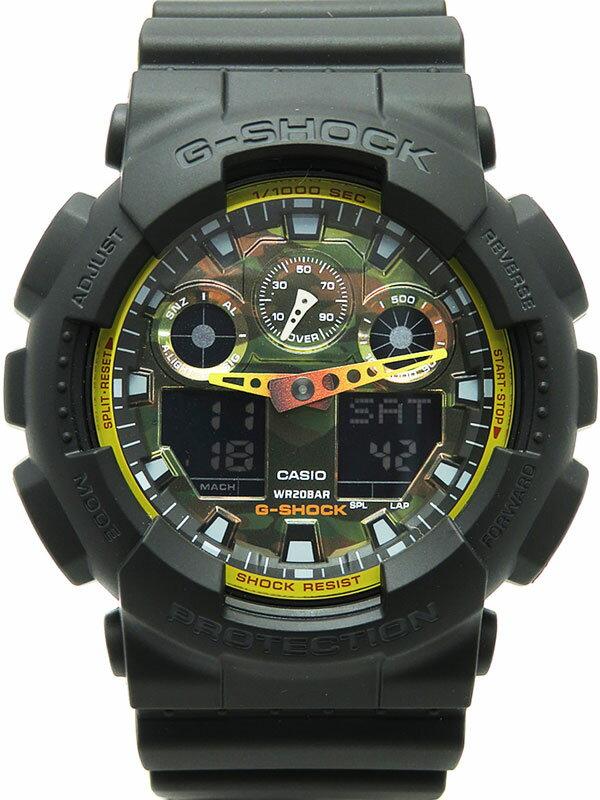 【CASIO】【G-SHOCK】カシオ『Gショック』GA-100BY-1AJF メンズ クォーツ 1週間保証【中古】