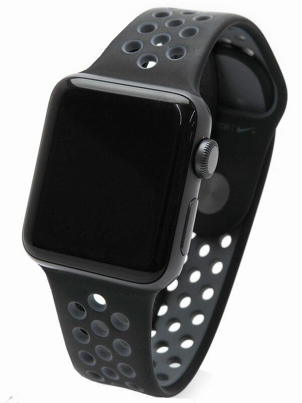 【Apple】【アップルウォッチ】【シリーズ2】アップル『Apple Watch Nike+ 38mm』MP002J/A ボーイズ ウェアラブル端末 1週間保証【中古】