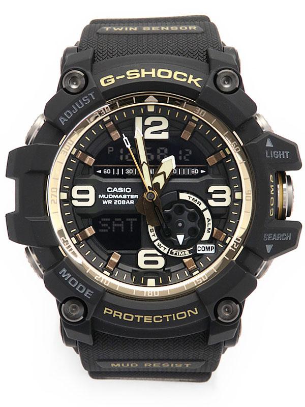 【CASIO】【G-SHOCK】【'17年購入】【美品】カシオ『Gショック マッドマスター ヴィンテージブラック&ゴールド』GG-1000GB-1AJF クォーツ 1週間保証【中古】