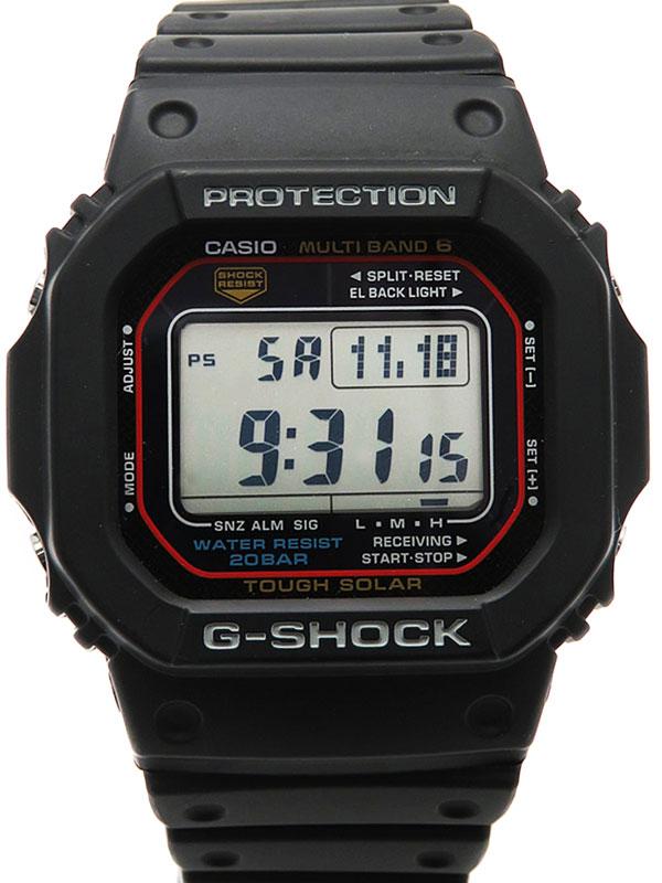 【CASIO】【G-SHOCK】カシオ『Gショック』GW-M5610-1JF ボーイズ ソーラー電波クォーツ 1週間保証【中古】
