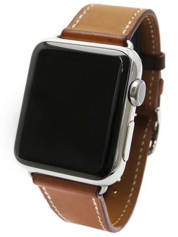【Apple】【アップルウォッチ】アップル『Apple Watch Hermes 38mm シンプルトゥール』MLC32J/A ボーイズ ウェアラブル端末 1週間保証【中古】