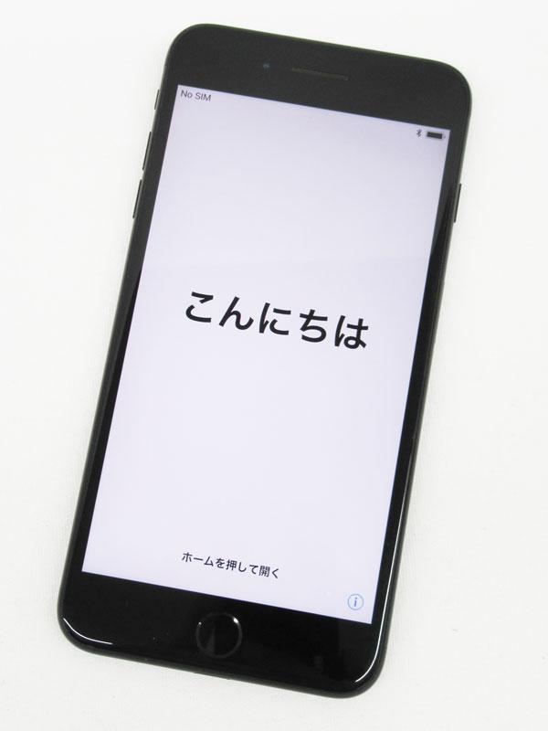 【Apple】アップル『iPhone 7 Plus 128GB SoftBank』MN6K2J/A ジェットブラック iOS11.1.1 5.5型 白ロム ○判定 スマートフォン【中古】