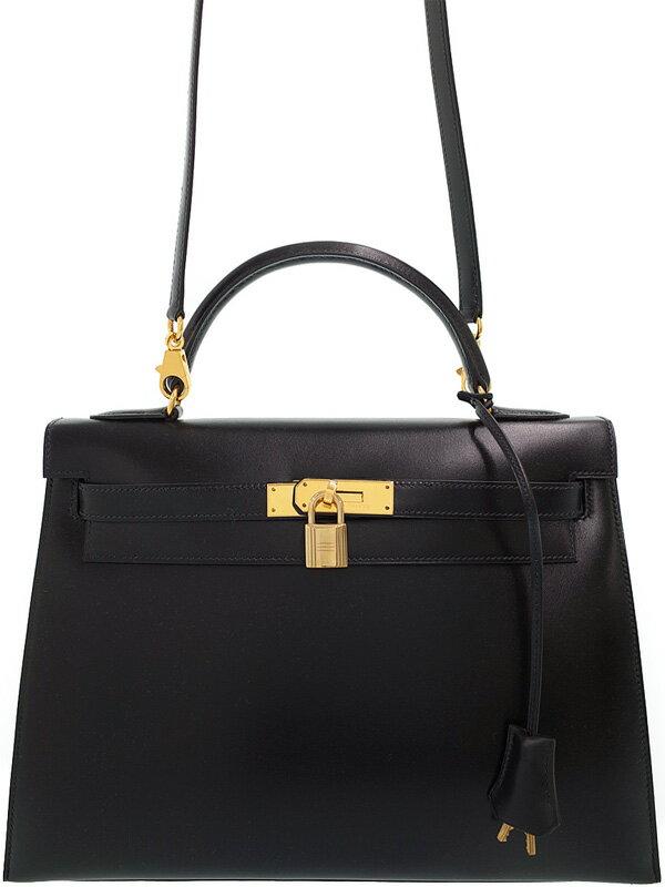 【HERMES】【ゴールド金具】エルメス『ケリー32 外縫い』X刻印 1994年製 レディース 2WAYバッグ 1週間保証【中古】