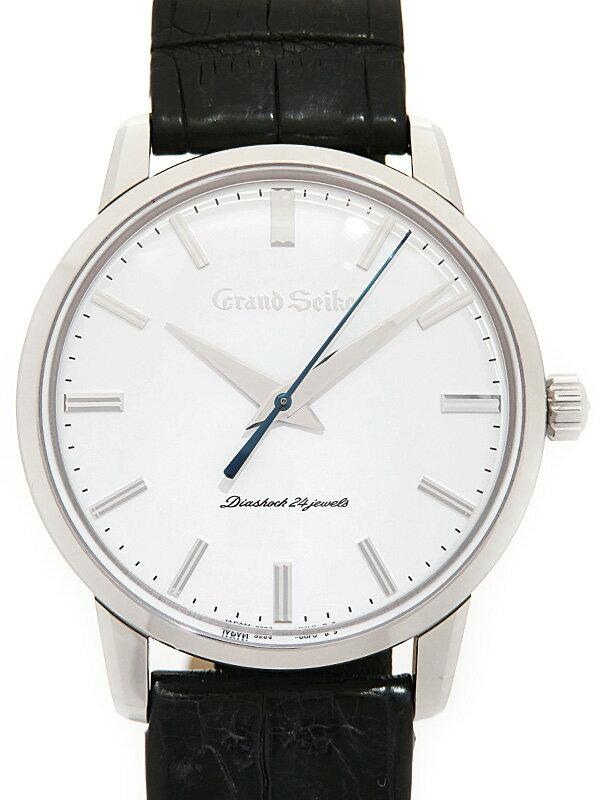 【SEIKO】【GS】【1960本限定】【初代GS復刻デザイン】【'17年購入】セイコー『グランドセイコー』SBGW253 メンズ 手巻き 6ヶ月保証【中古】