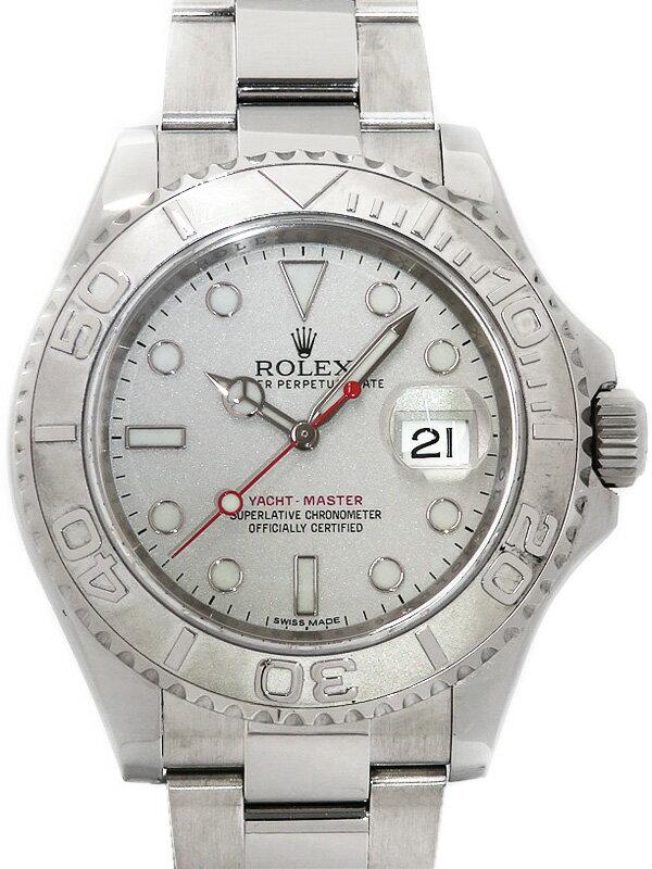 【ROLEX】【'15年購入】ロレックス『ヨットマスターロレジウム』116622 ランダム番 メンズ 自動巻き 12ヶ月保証【中古】