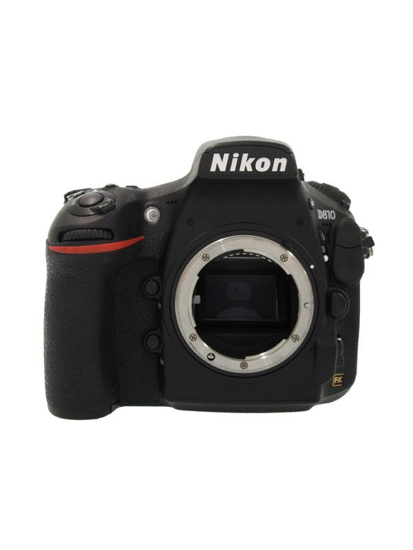 【Nikon】ニコン『D810』FXフォーマット 3635万画素 ISO100-12800 フルHD動画 デジタル一眼レフカメラ 1週間保証【中古】