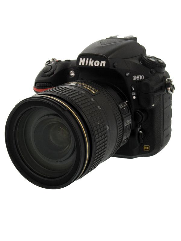 【Nikon】ニコン『D810 24-120 VR レンズキット』FXフォーマット 3635万画素 ISO100-12800 フルHD動画 デジタル一眼レフカメラ 1週間保証【中古】