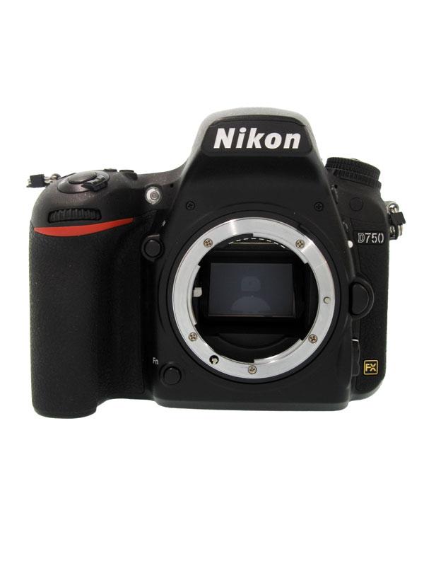 【Nikon】ニコン『D750』2432万画素 FXフォーマット ISO12800 フルHD動画 ボディー デジタル一眼レフカメラ 1週間保証【中古】