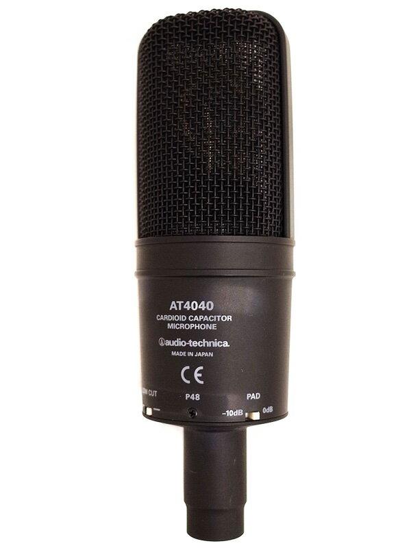 【audio-technica】オーディオテクニカ『コンデンサーマイク』AT4040 1週間保証【中古】
