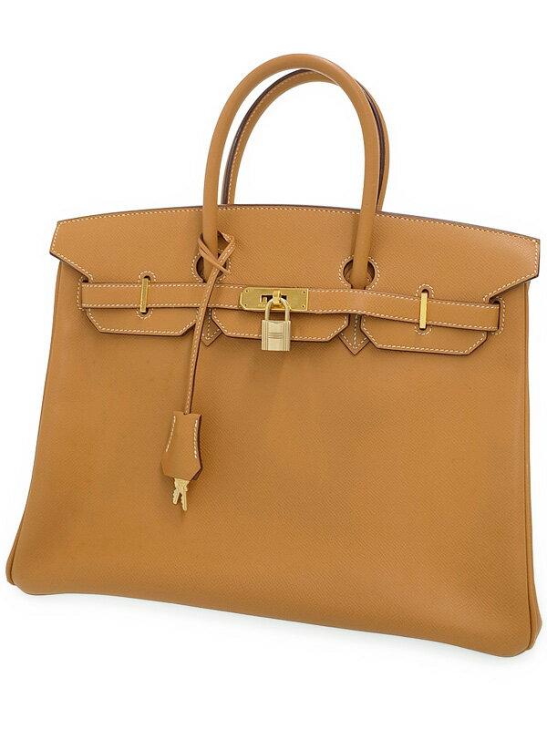 【HERMES】【ゴールド金具】エルメス『バーキン35』J刻印 2006年製 レディース ハンドバッグ 1週間保証【中古】