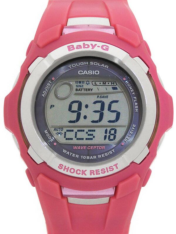 【CASIO】【Baby-G】【2004本限定】カシオ『ベビーG キューティーハニーコラボ』BGT-2500CHF-4JR レディース ソーラー電波クォーツ 1週間保証【中古】