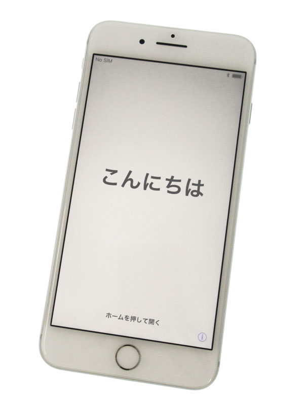 【Apple】アップル『iPhone 8 Plus 64GB au』MQ9L2J/A シルバー iOS11.2 5.5型 白ロム ○判定 スマートフォン【中古】