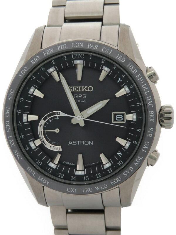 【SEIKO】【ASTRON】セイコー『アストロン』SBXB085 65****番 メンズ ソーラーGPS 3ヶ月保証【中古】