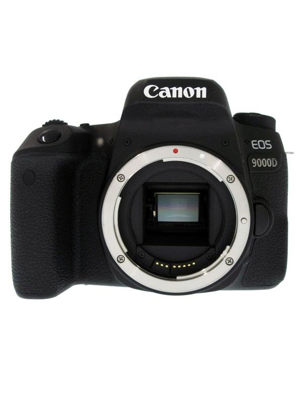 【Canon】キヤノン『EOS 9000D ボディ』EOS9000D 2420万画素 APS-C 45測距点 デジタル一眼レフカメラ【中古】