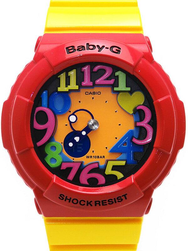 【CASIO】【BABY-G】カシオ『ベビーG クレイジーネオンシリーズ』BGA-131-4B5JF レディース クォーツ 1週間保証【中古】