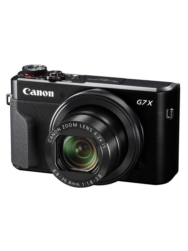 【Canon】キヤノン『PowerShot G7 X Mark II』PSG7XMARKII ブラック 2010万画素 光学4.2倍 広角24mm フルHD Wi-Fi コンパクトデジタルカメラ【中古】