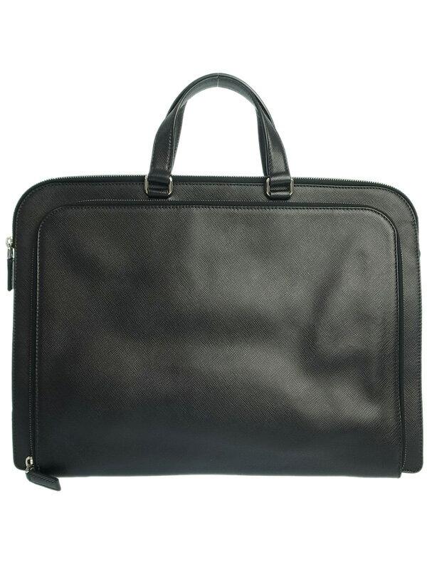 【PRADA】プラダ『ブリーフケース』VR0023 メンズ ビジネスバッグ 1週間保証【中古】