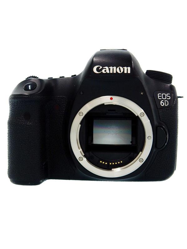 【Canon】キヤノン『EOS 6Dボディー』EOS6DBODY 2020万画素 フルサイズ 無線LAN デジタル一眼レフカメラ 1週間保証【中古】