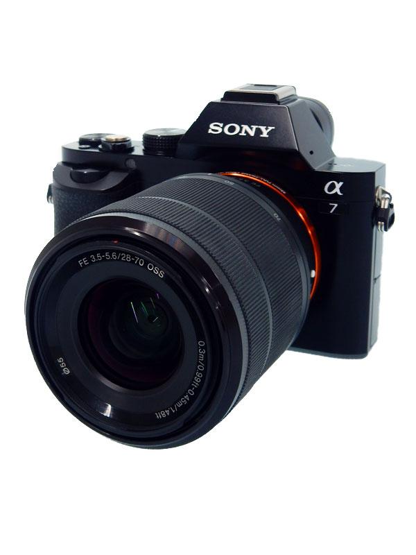 【SONY】ソニー『α7 ズームレンズキット』ILCE-7K 2430万画素 フルサイズ Eマウント ミラーレス一眼カメラ【中古】