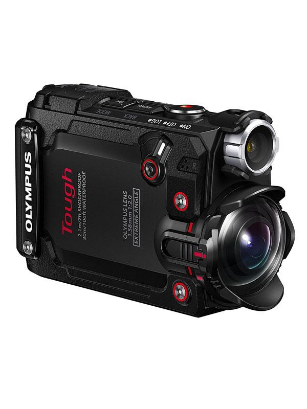 【OLYMPUS】オリンパス『STYLUS TG-Tracker』ブラック フィールドログカメラ 1週間保証【中古】