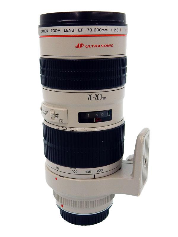 キヤノン『EF70-200mm F2.8L USM』EF70-200L 望遠ズーム フルタイムマニュアル 一眼レフカメラ用レンズ 1週間保証【中古】