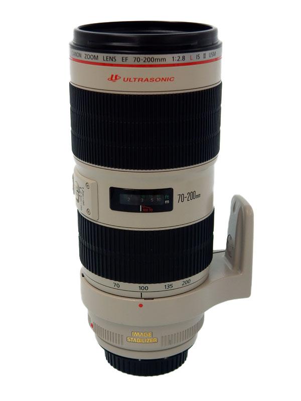 キヤノン『EF70-200mm F2.8L IS II USM』EF70-200LIS2 望遠ズーム 手ブレ補正 一眼レフカメラ用レンズ 1週間保証【中古】