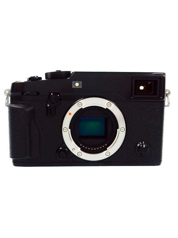 【FUJIFILM】富士フイルム『X-Pro2 ボディ』ブラック 2430万画素 APS-C ミラーレス一眼カメラ 1週間保証【中古】