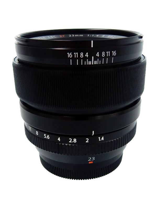 【FUJIFILM】富士フイルム『FUJINON XF23mmF1.4 R』35mm相当 ポートレート ミラーレス一眼カメラ用レンズ 1週間保証【中古】