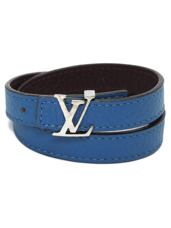 【Louis Vuitton】【リバーシブル】ルイヴィトン『ブラスレ・LV』M6015E ブレスレット 1週間保証【中古】