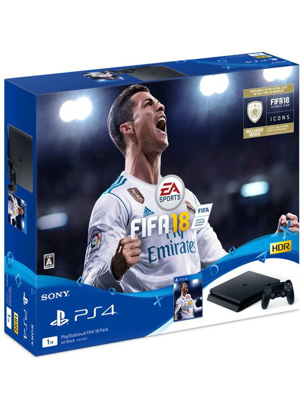 【訳あり】【SONY】ソニー『PlayStation4(プレイステーション4) FIFA 18 Pack』CUHJ-10017 ゲーム機本体 1週間保証【新品】